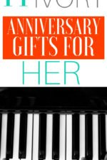 20 14th Ivory Anniversary Gifts for Her