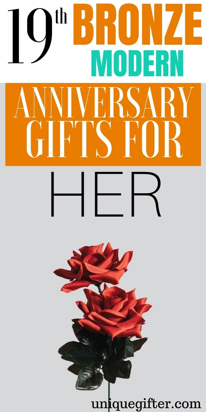 20 19th Bronze Modern Anniversary Gifts For Her Unique Gifter