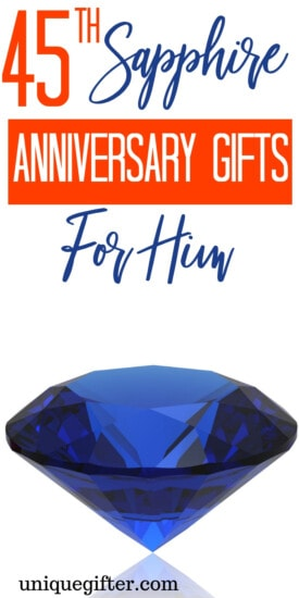 45th Sapphire Anniversary Gifts For Him | Gifts For Your Husband | Anniversary Gifts For Your Husband | 45th Wedding Anniversary Gifts | 45th Wedding Anniversary Presents | Unique Gifts For Your Husband | Creative Gifts For Your Husband | Anniversary Presents For Him | #gifts #giftguide #anniversary #presents #unique