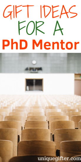 Gift Ideas For A PhD Mentor | Gifts For Mentor | Mentor Gifts | Presents For Mentor | Unique Presents For Mentor | PhD Mentor | Creative PhD Mentor Presents | #gifts #giftguide #mentor #phd #presents