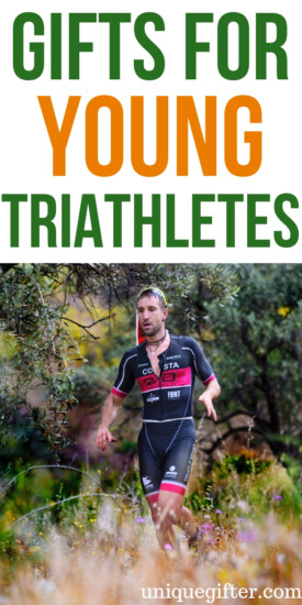 Gifts For Young Triathletes | Triathlete Gifts | Gifts For Young Triathlete Competitors | Presents For Triathletes | Presents For Young Triathletes | Unique Gifts | Unique Presents | #gifts #giftguide #presents #unique #triathlete