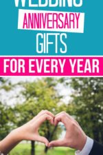 Wedding anniversary gifts by year: What are the anniversary gifts for each year?