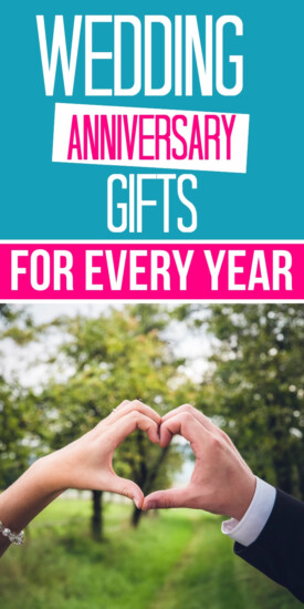 Wedding Anniversary Gifts by Year | Traditional and Modern Wedding Anniversary Gift Ideas | Themes for every wedding anniversary year | What to buy for a first anniversary (paper) gift. How to celebrate a golden 50th anniversary | Wedding anniversary Gifts for Men | Anniversary Presents for Husband and Wife