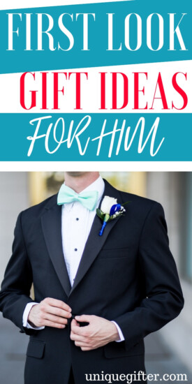 First Look Gift Ideas For Him | First Look Gifts For Your Husband | First Look Gifts For Groom | Presents For Groom | Presents For Husband | Gifts For Husband | Ideal Gifts For Groom | Creative Presents For Husband | Unique Presents For Husband | #gifts #giftguide #presents #unique #groomgifts