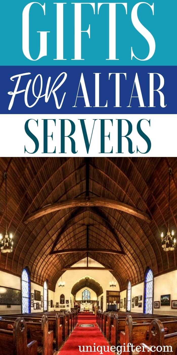 Gifts For Altar Servers | Unique Gifts For Altar Servers | Creative Gifts For Altar Servers | Altar Server Presents | Thoughtful Presents For Altar Server | #gifts #giftguide #unique #presents #servers
