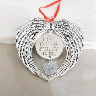 This sympathy gift ideas for loss of father would look beautiful anywhere.
