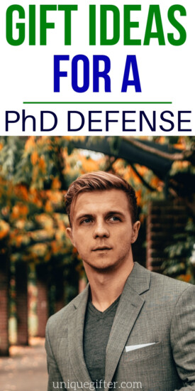 Gift Ideas For PhD Defense   Unique Gift Ideas   Unique Presents   PhD Defense Gifts   PhD Defense Presents   Congratulations Gifts   Graduation Gifts   PhD Graduation Gifts   #gifts #giftguide #unique #presents #defense
