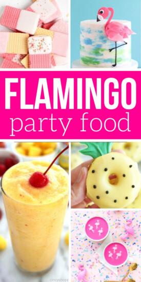 Flamingo Themed Food | Flamingo Party | Flamingo Party Ideas | Flamingo Food Ideas | Party Food | #party #flamingo #pink #easy #creative #diy #uniquegifter