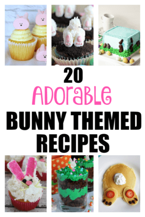 Easter Snacks | Easter Desserts | Easter Bunny Dessert Recipes | Adorable Easter Treats | Holiday Treat Recipes | Easter Treat Recipes | #easter #recipes #treats #bunny #cooking