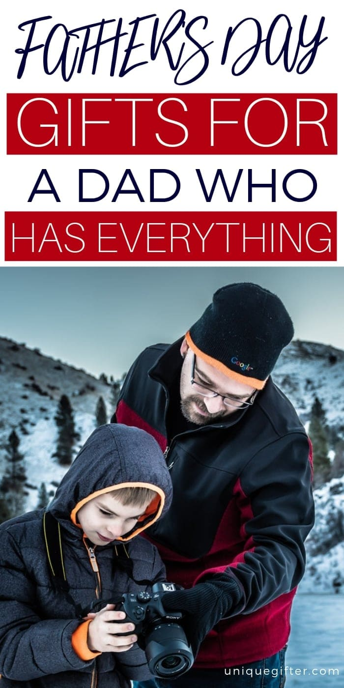 Father's Day Gifts For A Dad Who Has Everything | Father's Day | Gift Guide For Dad | Gift Guide For Father's Day | Gifts For Father | Gifts For Dad | Impressive Father's Day Gifts | Creative Father's Day Gifts | Unique Father's Day Gifts | #gifts #giftguide #fathersday #impressive #presents