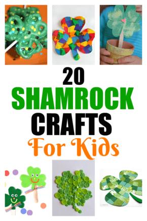 Shamrock Crafts For Kids | Unique Shamrock Crafts | Crafts For Kids | Holiday Crafts | Creative Shamrock Art Projects | Crafts To Entertain Kids With | Unique St. Patrick's Day Crafts | #unique #creative #shamrock #stpatricksday #kids