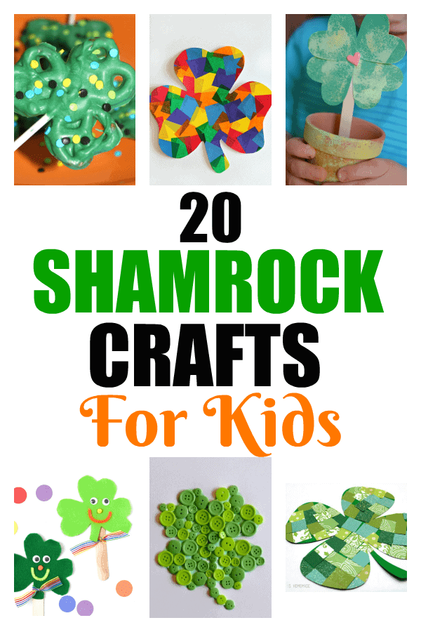 Shamrock Crafts For Kids | Unique Shamrock Crafts | Crafts For Kids | Holiday Crafts | Creative Shamrock Art Projects | Crafts To Entertain Kids With | Unique St. Patrick's Day Crafts | #unique #creative #shamrock #stpatricksday #kids