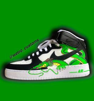 Custom Shenron DBZ sneakers