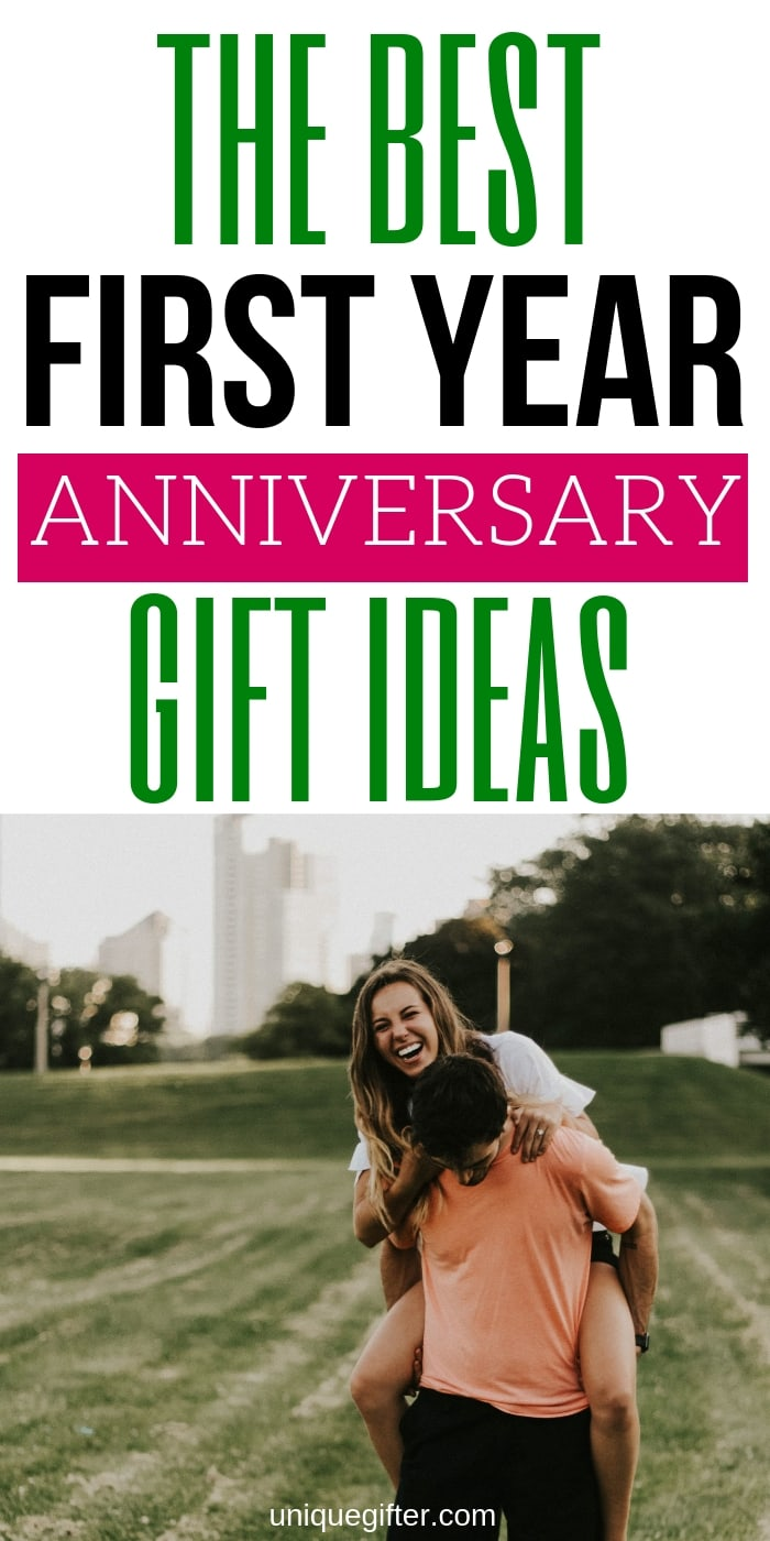 We survived our first year as newlyweds! I love the idea of picking traditional anniversary gifts each year - the first year is paper. I'm going to get my husband something inspired by this amazing list of ideas. I might even send it to him so he knows what to get his wife! #anniversary #gifts #presents