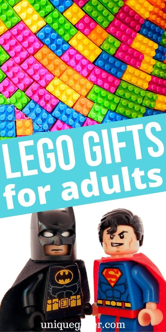 Fun Lego Gifts for Adults