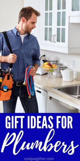 Gift Ideas for Plumbers | Terrific Gifts For Plumbers | Creative Gifts For The Plumber In Your Life | #gifts #giftguide #plumber #creative #presents #uniquegifter