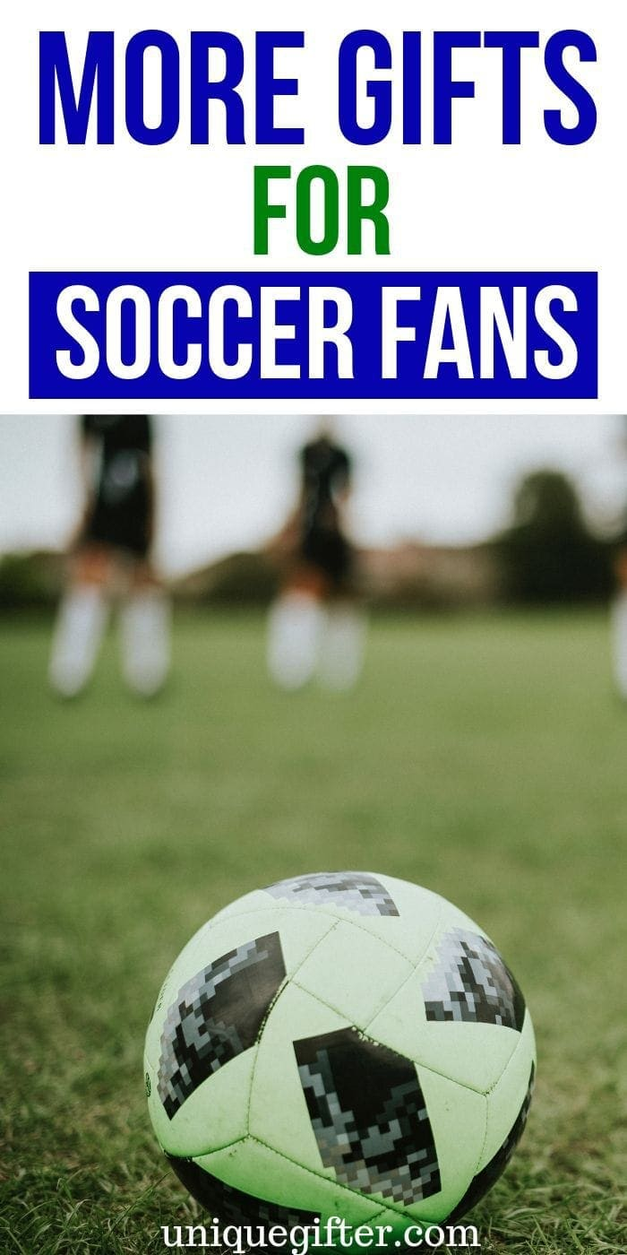 Goal! My son will love these gift ideas for soccer fans. He can never have enough team gear it seems. His birthday present is covered! #soccer #gifts #giftguide #presents #creative #uniquegifter