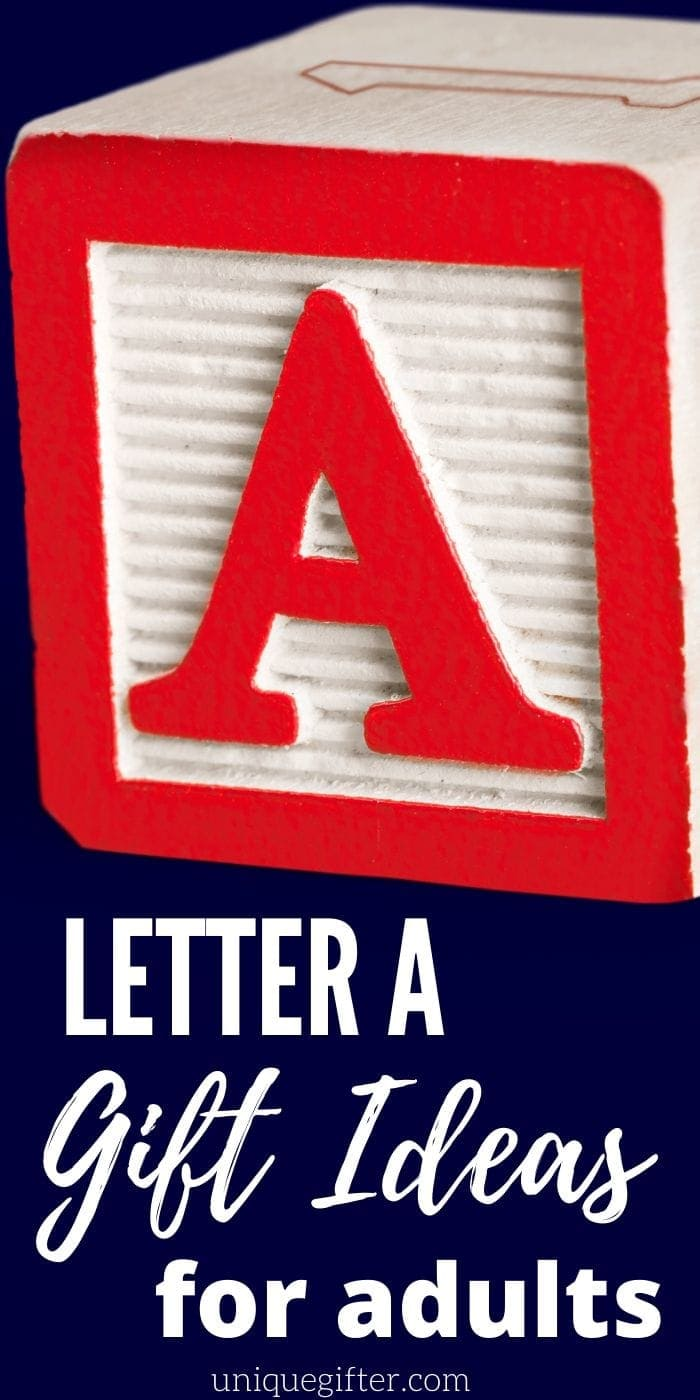 Gifts for the Letter A