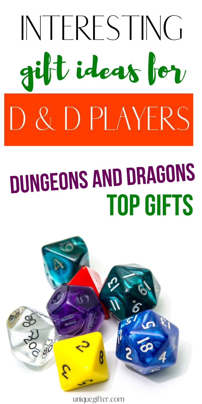 Interesting Gift Ideas For Dd Players Dungeons And