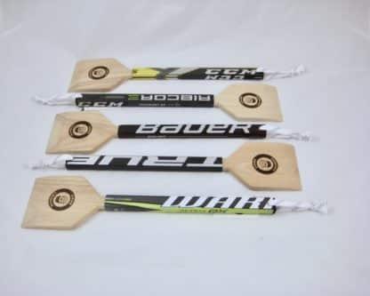 Hockey Stick Wooden BBQ Scraper