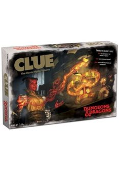 Dungeons and Dragons D&D CLUE board game gift