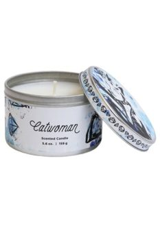 scented candle catwoman tin anniversary gift