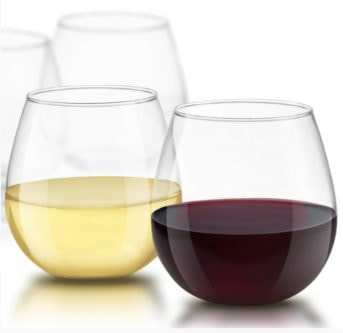 The Best Wine Gift your Girlfriend actually Wants | Spirits Crystal Stemless Wine Glasses
