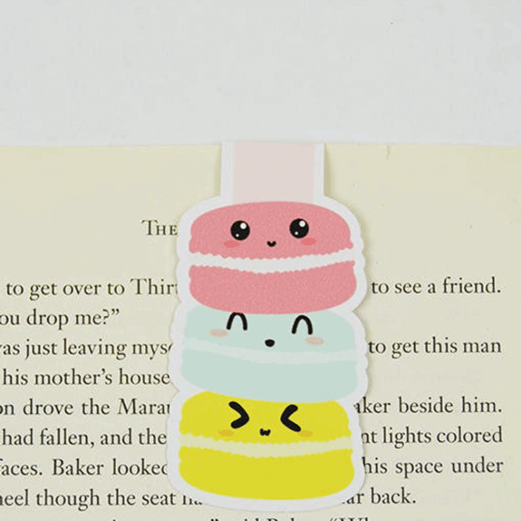 macaron book mark kawaii stocking stuffer ideas for teenage girls