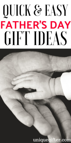 Quick & Easy Father's Day Gifts | Gift Ideas For Dad | Father's Day Gifts | Thoughtful Gifts For Dad | Creative Dad Gifts | Father's Day | Unique Father's Day Presents | Unique Father's Day Gifts | Presents For Dad | Creative Gifts | Father Gifts | Daddy Gifts | #gifts #giftguide #presents #fathersday #unique