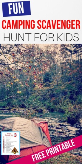 Free Printable Camping Scavenger Hunt | Scavenger Hunt For Kids | Easy Scavenger Hunt | Camping Scavenger Hunt | Camping Activities | Fun Camping Activity | Camping | Kids Activity | Group Kids Activity | #activity #kids #camping #scavengerhunt #easy
