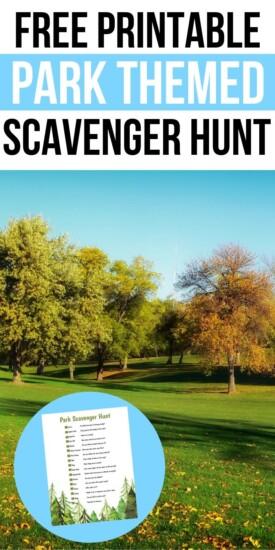 Free Printable Park Scavenger Hunt | Scavenger Hunt For Kids | Kid Fun | Kid Entertainment | Entertaining Bored Kids | Scavenger Hunt | Easy Scavenger Hunt | #kids #scavengerhunt #easy #fun #unique