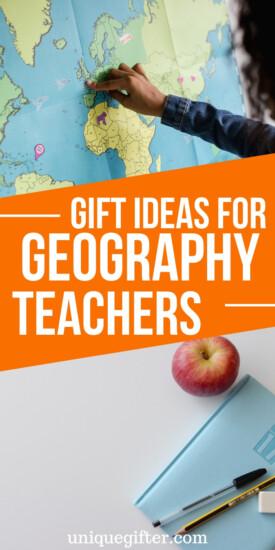 Gift Ideas For Geography Teachers | Teacher Gifts | Unique Gifts | Unique Presents For Teachers | Presents For Teachers | Creative Teacher Gifts | Geography Gifts | #gifts #giftguide #teacher #geography #presents