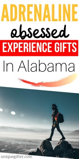 Adrenaline Junkie Experience Gifts In Alabama | Experience Gifts | Experience Gifts In Alabama | Unique Gifts In Alabama | Creative Alabama Gifts | #gifts #giftguide #experiencegifts #alabama #unique