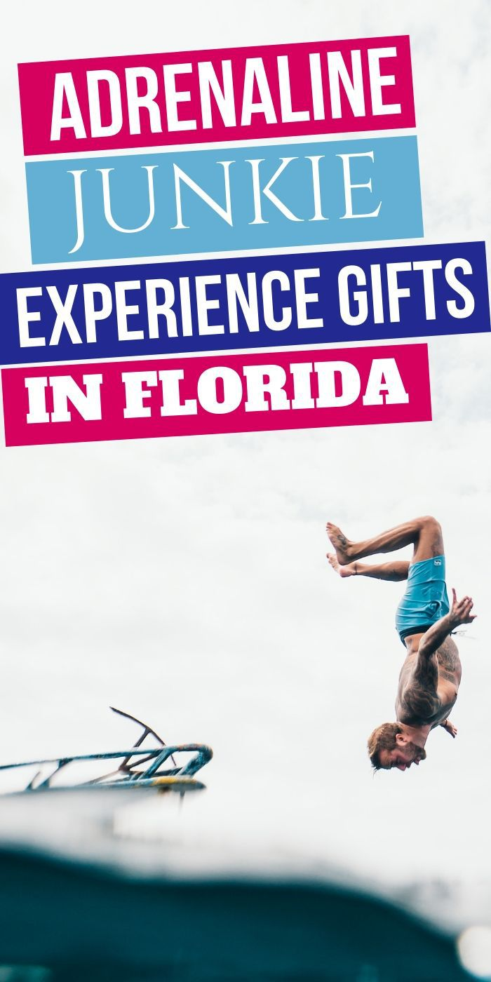 Adrenaline Junkie Experience Gifts In Florida | Central Florida Experiences Gifts | Gifts Central Florida | Travel | Adrenaline Experiences | Unique Travel Gifts | #unique #adrenaline #travel #experiencegifts #florida