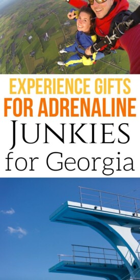 Adrenaline Junkie Experience Gifts in Georgia | Experience Gifts | Creative Gifts | Georgia Gifts | Unique Presents | Experience Presents | #gifts #giftguide #georgia #experiencegifts #presents