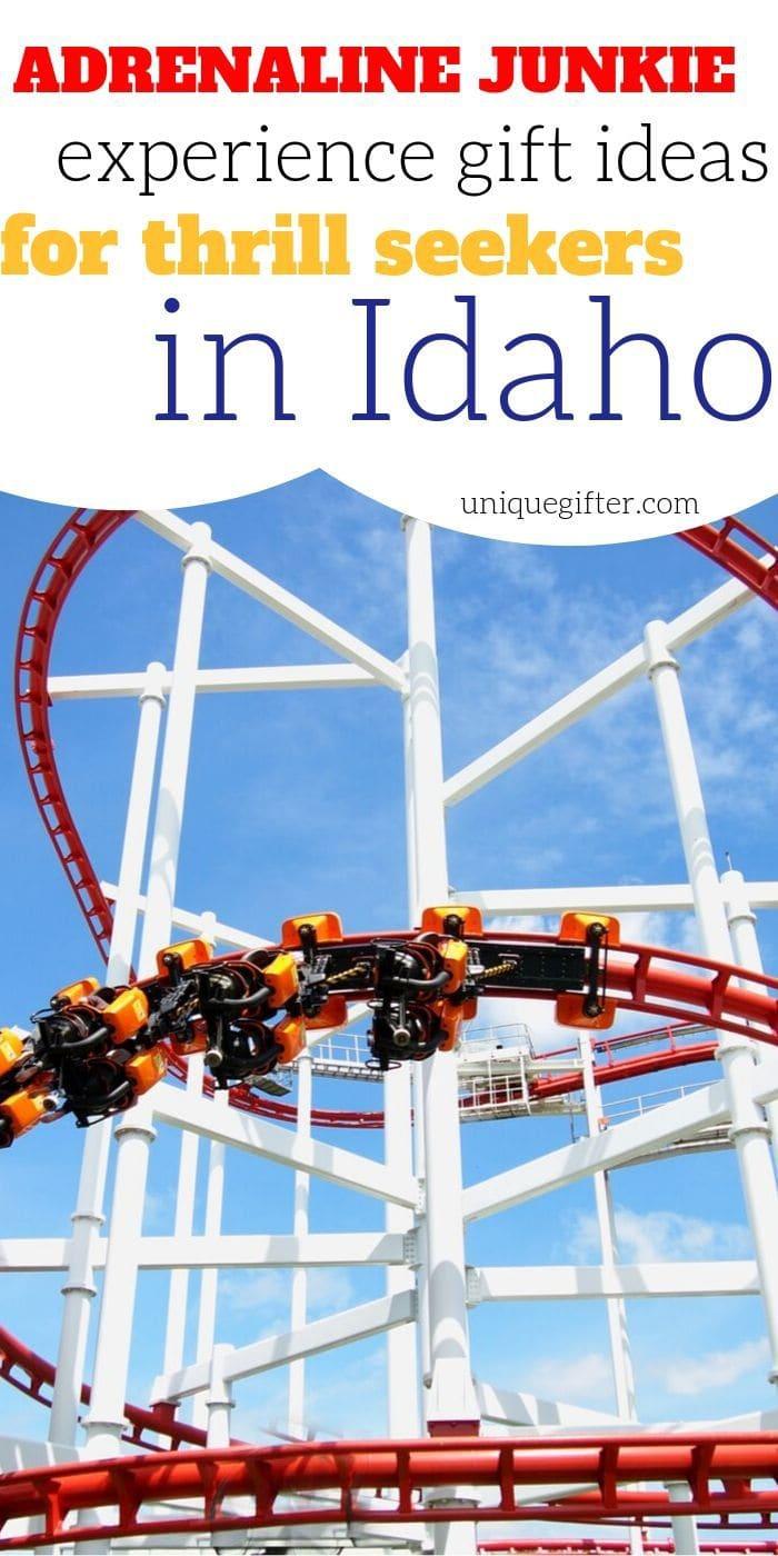 Adrenaline Junkie Experience Gifts in Idaho | Idaho Gifts | Idaho Adventures | Creative Experience Gifts | Experience Gifts | Experience Presents | Unique Idaho Gifts | #gifts #giftguide #presents #experiencegifts #idaho