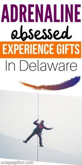 Adrenaline Junkie Experience Gifts in Delaware | Delaware Adventures | Experience Gifts | Delaware Experience Gifts | Delaware Presents | #gifts #giftguide #delaware #adventure #unique