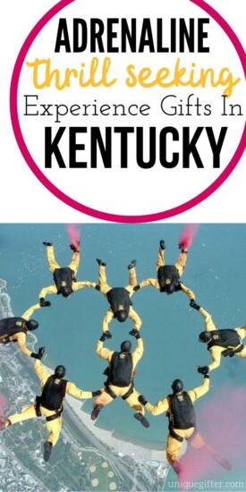 Adrenaline Junkie Experience Gifts in Kentucky | Kentucky Gifts | Kentucky Adventures | Kentucky Presents | Kentucky Adventure Presents | Unique Kentucky Gifts | #gifts #giftguide #experiencegifts #kentucky #uniquegifter