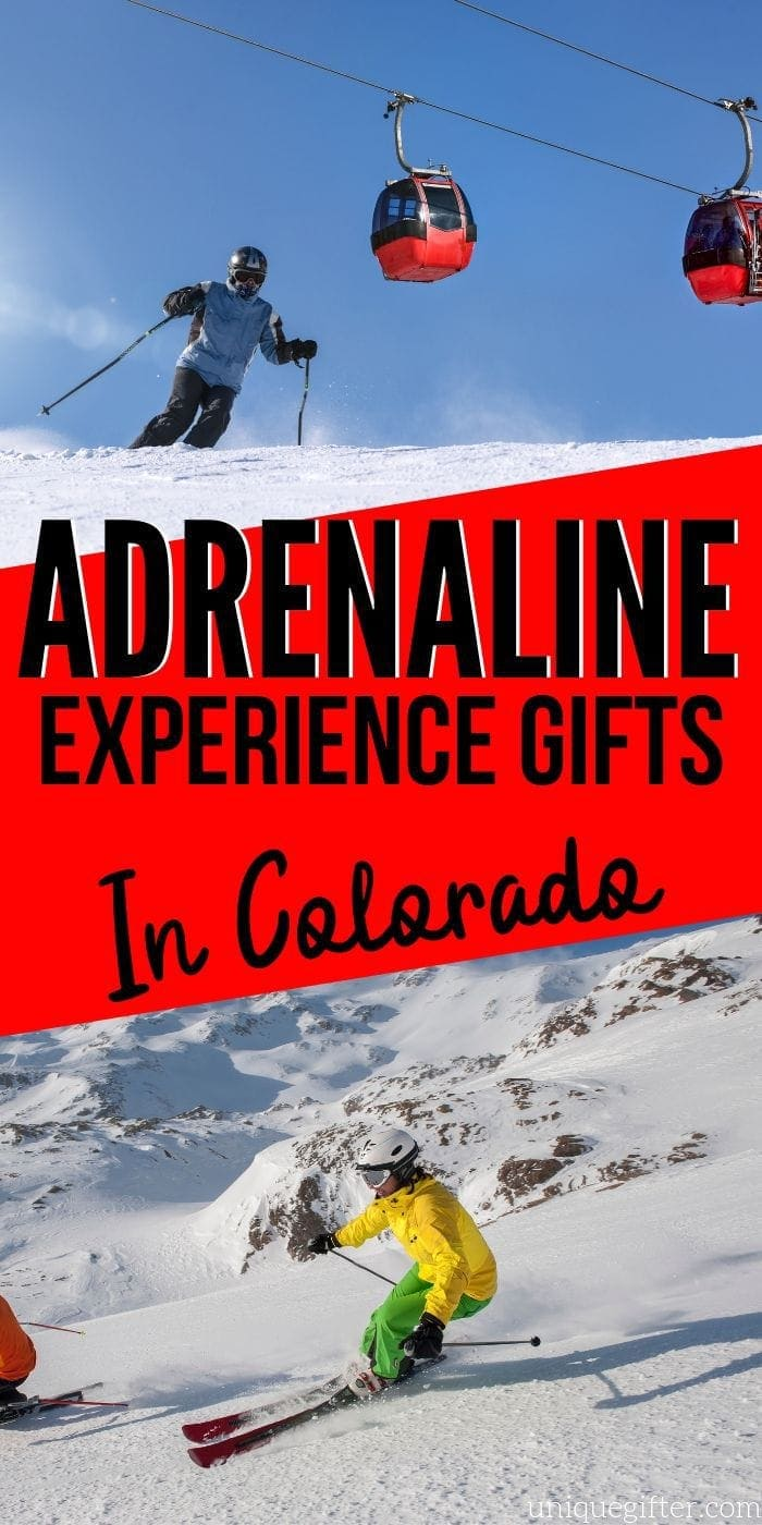 Adrenaline Junkie Experience Gifts in Colorado | Experience Gifts | Colorado Presents | Colorado Gifts | Unique Experience Gifts | Creative Experience Gifts | #gifts #giftguide #adrenalinegifts #presents #unique