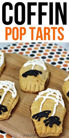 Spooky Coffin Homemade Pop Tarts | Pop-tarts | Pop-Tart Recipes | Homemade Pop Tarts | Homemade Pop-Tarts | Recipe For Pop-Tarts | #unqiue #poptarts #homemade #easy #halloween