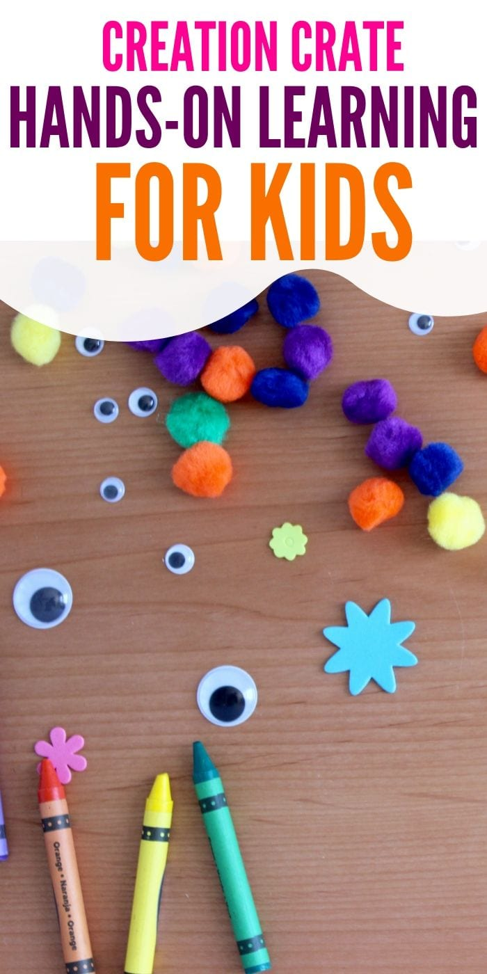 Creation Crate: Hands-On Learning for Kids | Hands-On Learning | Creation Crate | Creative Gifts For Kids | #gifts #giftguide #presents #kids #handsonlearning #uniquegifter