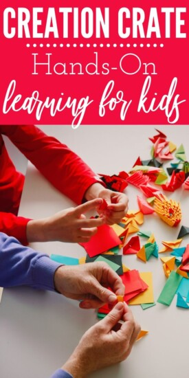 Creation Crate: Hands-On Learning for Kids   Hands-On Learning   Creation Crate   Creative Gifts For Kids   #gifts #giftguide #presents #kids #handsonlearning #uniquegifter