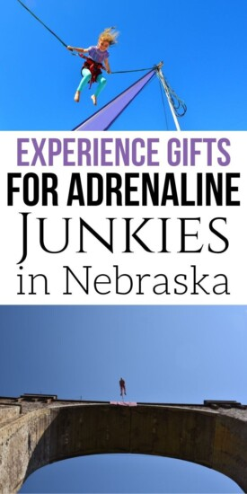Adrenaline Junkie Experience Gifts in Nebraska | Nebraska Gifts | Nebraska Presents | Creative Experience Gifts | Experience Gifts | Unique Gifts | Adventure Gifts | #gifts #giftguide #nebraska #experiencegifts #adventure #uniquegifter