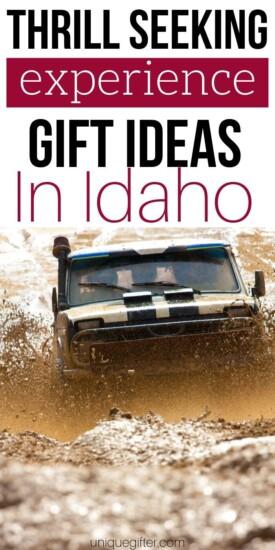Adrenaline Junkie Experience Gifts in Idaho   Idaho Gifts   Idaho Adventures   Creative Experience Gifts   Experience Gifts   Experience Presents   Unique Idaho Gifts   #gifts #giftguide #presents #experiencegifts #idaho