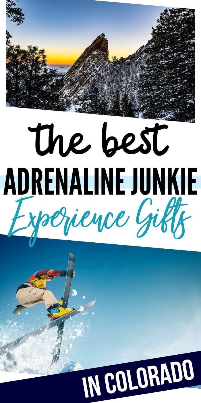 Adrenaline Junkie Experience Gifts in Colorado   Experience Gifts   Colorado Presents   Colorado Gifts   Unique Experience Gifts   Creative Experience Gifts   #gifts #giftguide #adrenalinegifts #presents #unique #bucketlist
