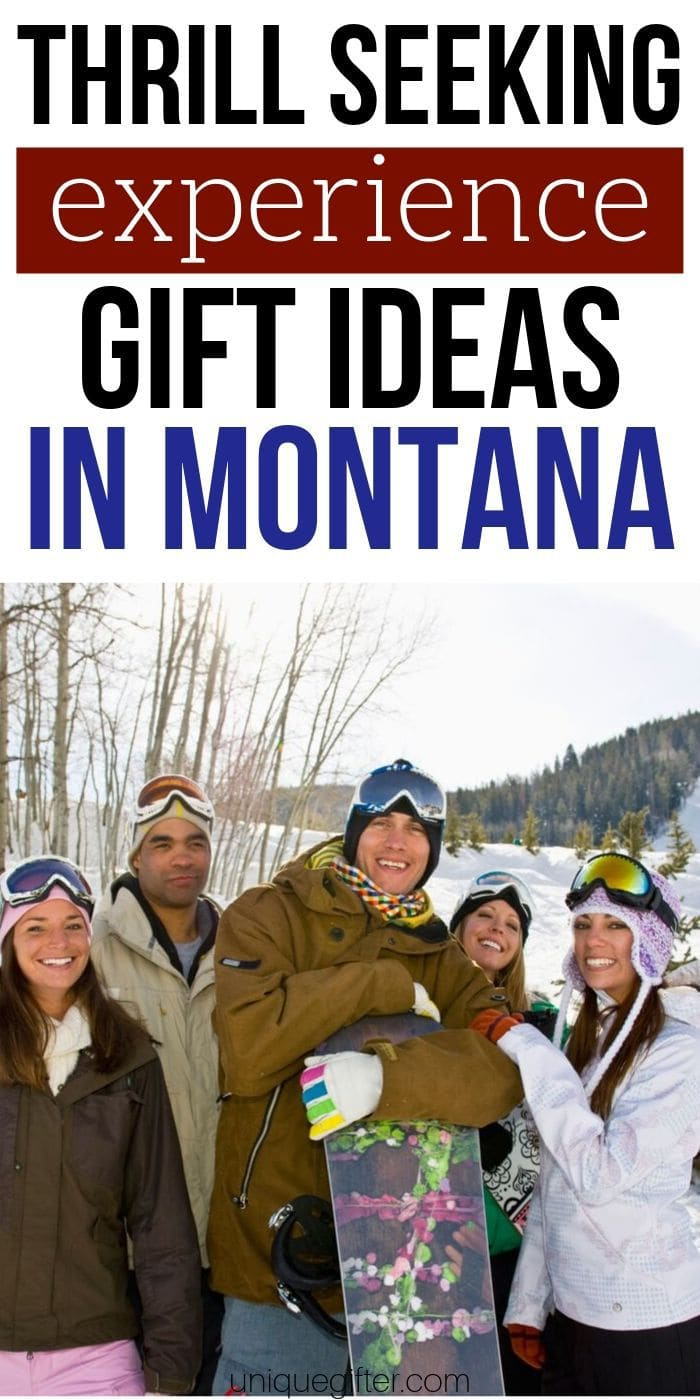 Adrenaline Junkie Experience Gifts in Montana | Experience Gifts | Experience Presents | Montana Gifts | Montana Presents | Unique Gifts | Creative Gifts | #gifts #giftguide #montana #experiencegifts #uniquegifter #presents