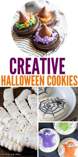Creative Halloween Cookies | Easy Halloween Cookies | Cute Halloween Cookies | Adorable Halloween Cookies | Halloween Cookies | #easy #cookies #halloween #creative #spooky #fun