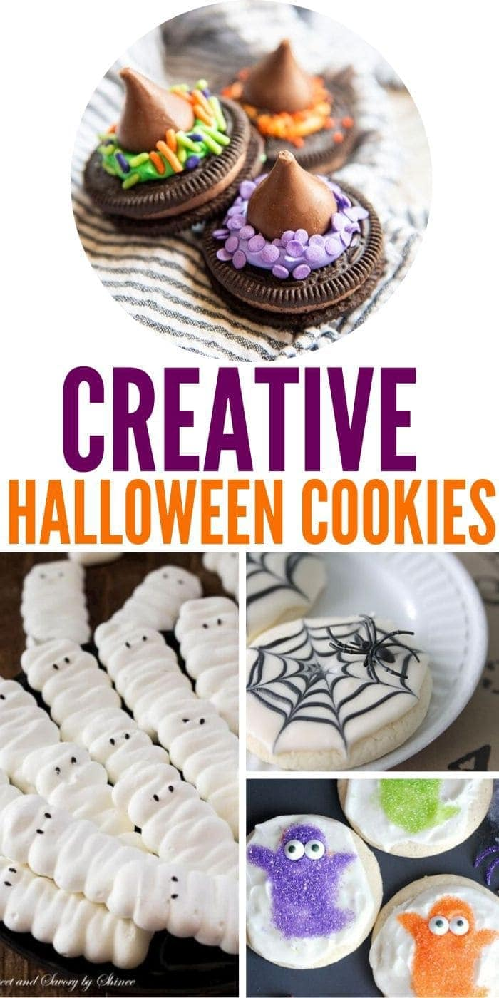 Creative Halloween Cookies | Easy Halloween Cookies | Cute Halloween Cookies | Adorable Halloween Cookies | Halloween Cookies | #easy #cookies #halloween #creative #spooky #fun
