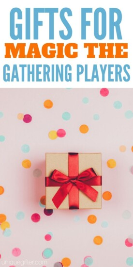 Gifts for Magic: The Gathering Players | Gifts For Magic | Presents For Magic | Creative Magic Gifts | Unique Magic Gifts | #gifts #giftguide #presents #magic #uniquegifter #creative