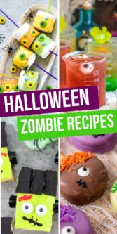 Halloween Monster Recipes | Halloween Treats | Zombie Treats | Monster Treats | Halloween Recipes | Easy Halloween Monster Recipes | Kid-Friendly Desserts | Halloween Desserts | #easy #halloween #monster #treats #schooltreats #simpletreats #partyfood #uniquegifter